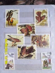 три альбома марок почтовых СССР