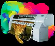 Широкоформатная печать  - 140 р. за кв.м.