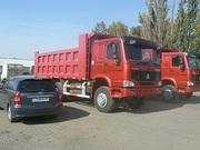 Продаём самосвалы- Хово  Howo в Омске ,  6х4 25 тонн ,  2300000 руб в наличии
