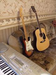 Уроки игры на гитаре даю