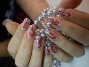 Обучение наращиванию ногтей