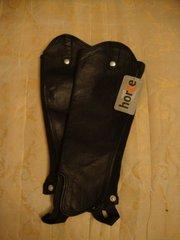 Кожаные краги Horse,  размер - S, .