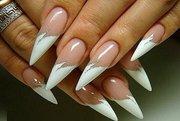 качественное и красивое наращивание ногтей гелем