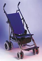 Ортопедическая коляска Эко-багги с козырьком