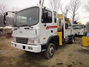 Продам бортовой грузовик с манипулятором Hyundai MEGA Truck
