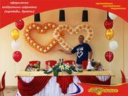 Воздушные шары на свадьбу (о'ШАРование) оформление и продажа в Белгороде