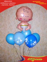 Воздушные шары с гелием на выписку из Род Дома в Белгороде