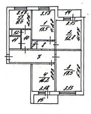 В БЕЛГОРОДЕ ПРОДАЕТСЯ 4-х комнатная квартира