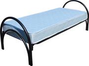 Трехъярусные металлические кровати оптом. Железные кровати от производ