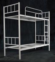 Одноярусные металлические кровати от производителя по низким ценам.