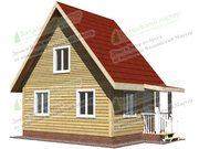 Дом 6х6м из проф. бруса 150х150мм