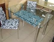 Cтолы из стекла,  стулья,  cамые низкие цены